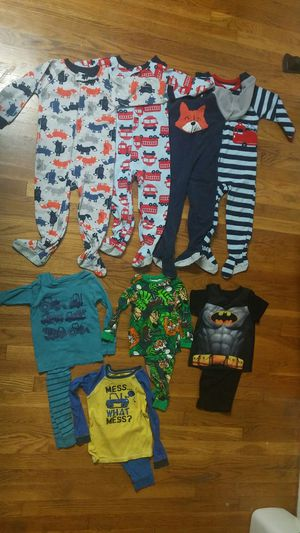 $2 each or $15 for ALL Boy Pajamas Size2-3 years old(Pick up only around Silver Spring and Beltsville, MD) for Sale in Silver Spring, MD