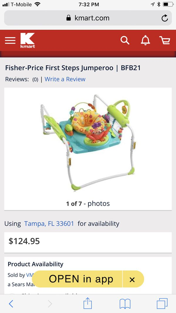 2a02abfccb35 Fisher price first step jumperoo (Baby   Kids) in Tampa