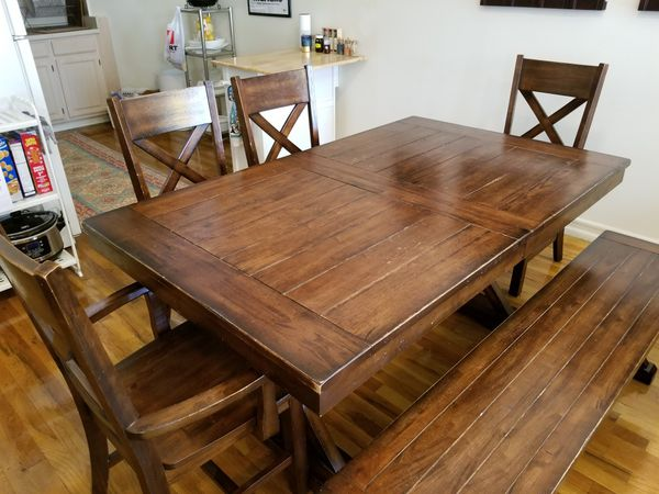 6 Piece Expandable Dining Table (Furniture) in New York, NY - OfferUp