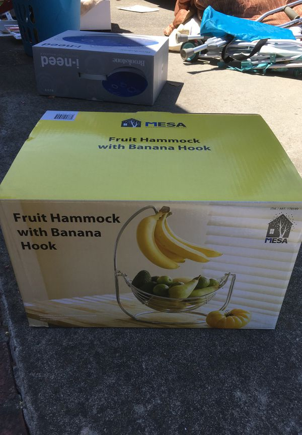 Fruit Hammock with Banana hook for Sale in Cupertino, CA - OfferUp