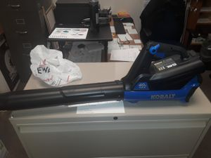 Kobal leaf blower,,,sopla hojas,,,used couple time for Sale in Arlington, VA
