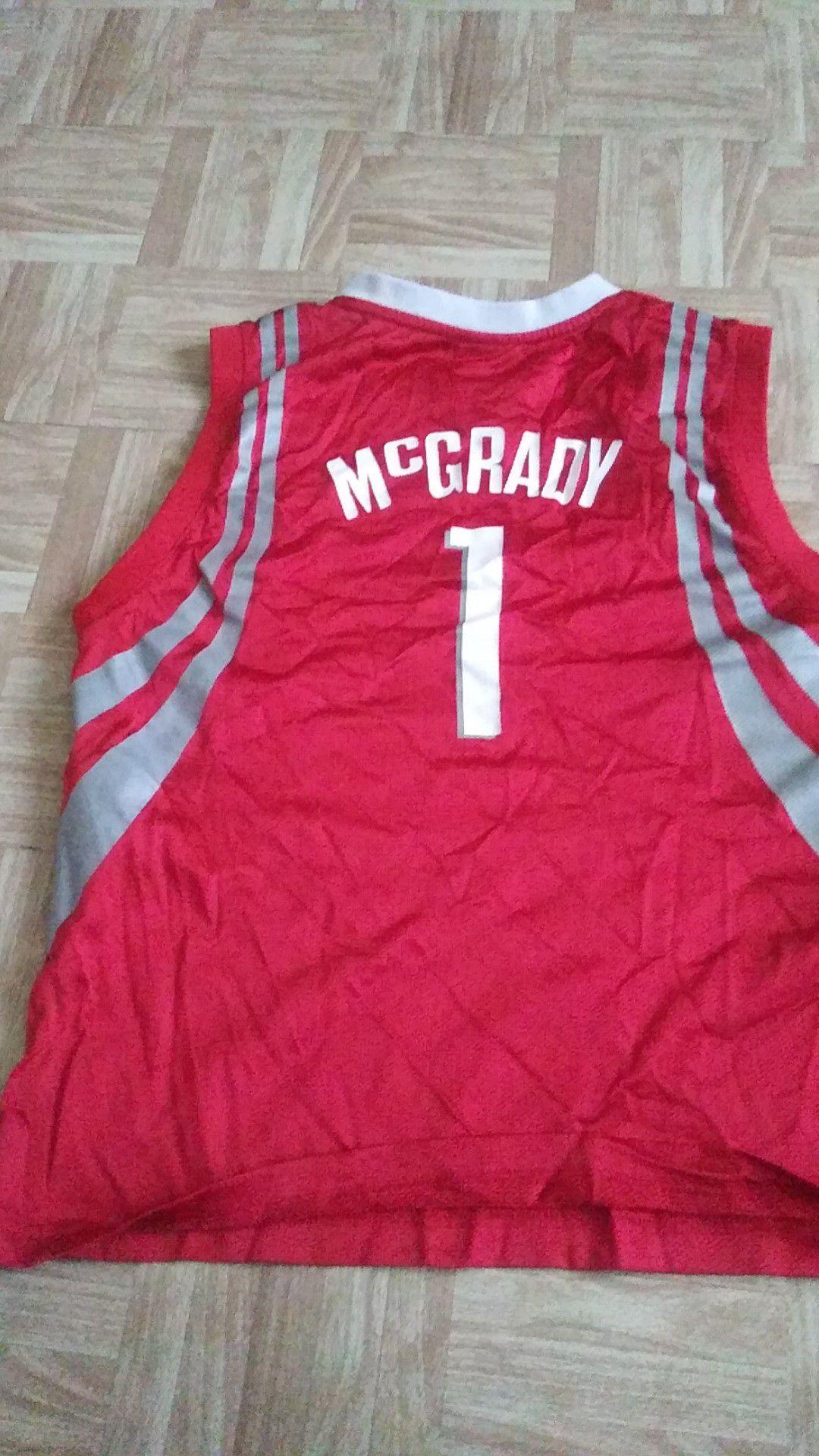 NBA REEBOK ROCKETS MCGRADY JERSEY