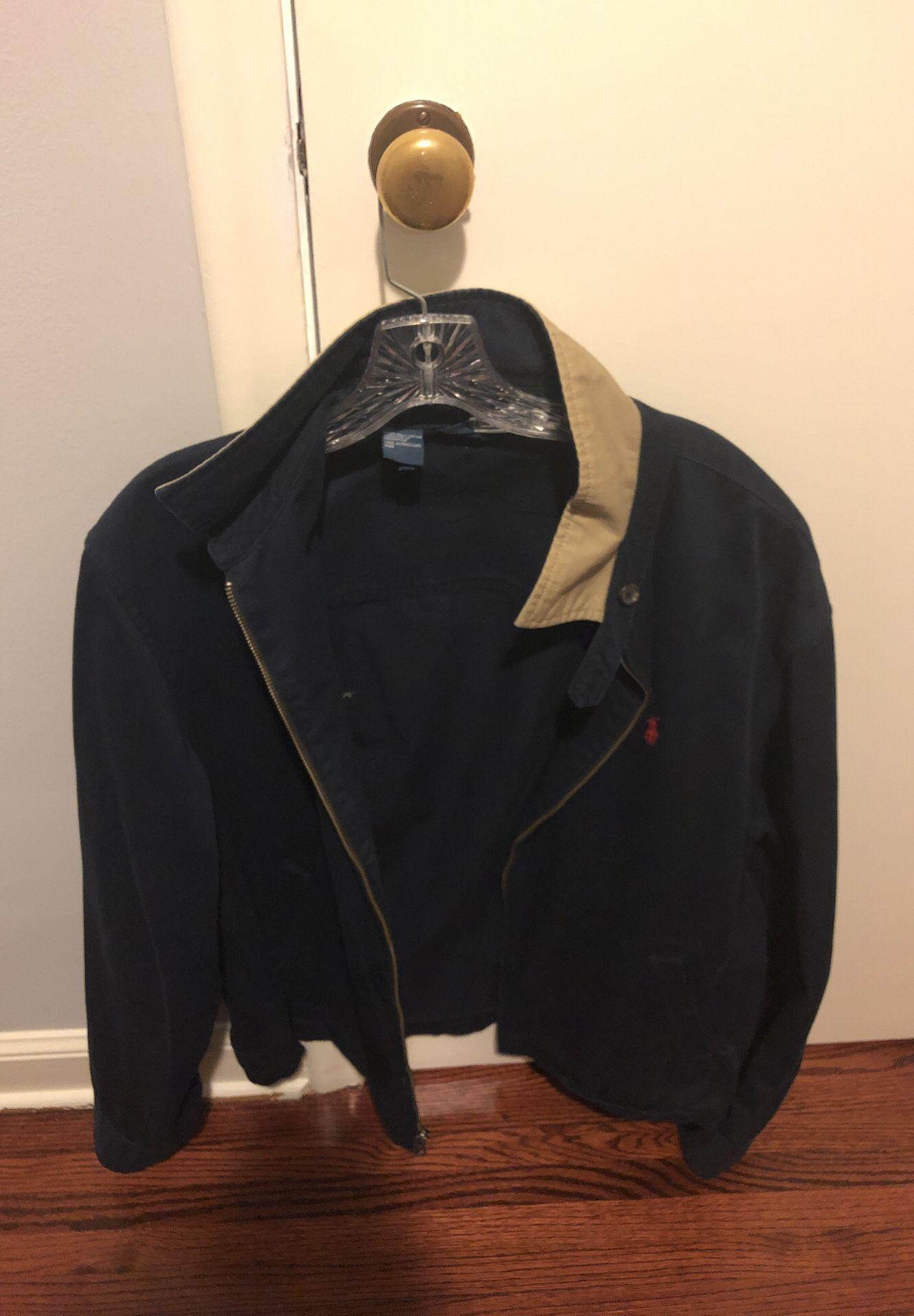 Navy Blue Polo Ralph Lauren Jacket