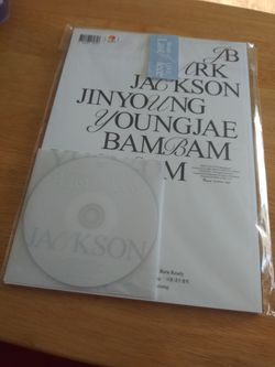 Got7 BOL Breath Of Love Kpop Album Jackson ver Thumbnail