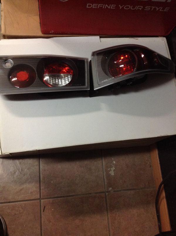 Honda Accord Set Of 4 Tail Lights New Black 03 04