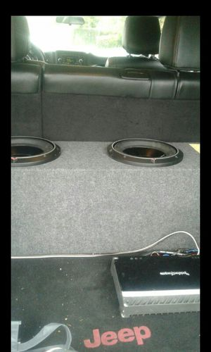 Car audio system for Sale in Porterville, CA