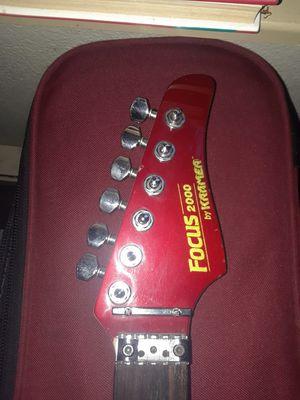 Red KRAMER focus guitar for Sale in Kirkland, WA