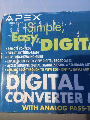 Photo Apex digital tv converter box