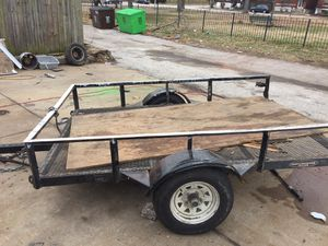 5x8 trailer with out ramp for Sale in St. Louis, MO