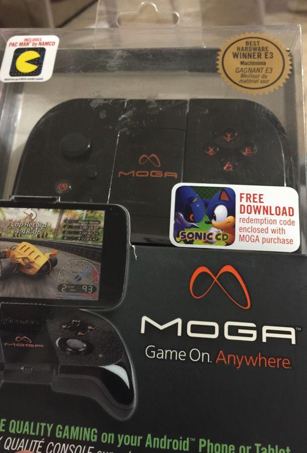 Moga game on control