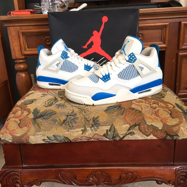 huge selection of 89547 fcc32 Jordan retro 4 Military blue for Sale in Palm Beach Gardens, FL - OfferUp