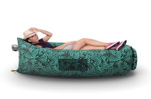 Inflatable Lounger Chair Air Couch - Outdoor Hangout Lazy Bag, Large Hammock Bed, Floating Self Inflating Sofa for Pool, Camping, Beach for Sale in Ocean Ridge, FL