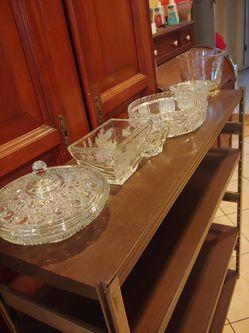 Home interior y otros lindas piezas de cristal todo a un precio Thumbnail
