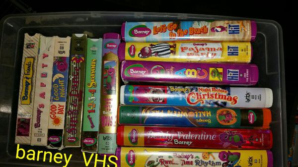 32 Barney Vhs Tapes For Sale In Covington Wa Offerup