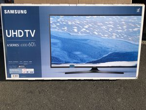 """Samsung UN60KU6300 60"""" 4K UHD HDR LED Smart TV 2160p *FREE DELIVERY* for Sale in Newcastle, WA"""