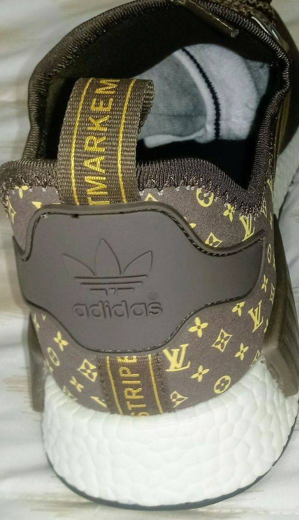 432b3f3e737b MENS ADIDAS NMD LOUIS VUITTON SHOES for Sale in Miami