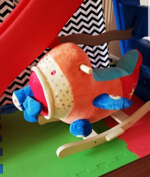 Kids toy, rocking plane with sound for Sale in Lutherville-Timonium, MD