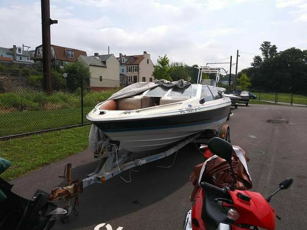 20ft Bayliner 125hp w/Trailer $2500 obo or Motorcycle Trade for Sale in  Lancaster, PA - OfferUp