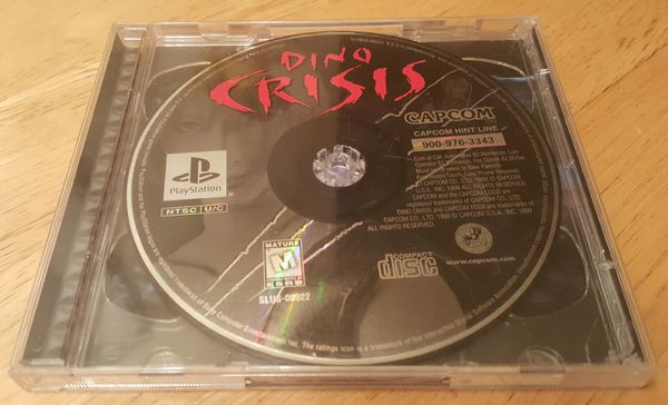 Dino Crisis with Resident Evil 3 Nemesis Demo Disc for PS1! for Sale in  Portland, OR - OfferUp