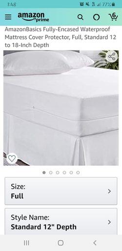 Full mattress protector Thumbnail