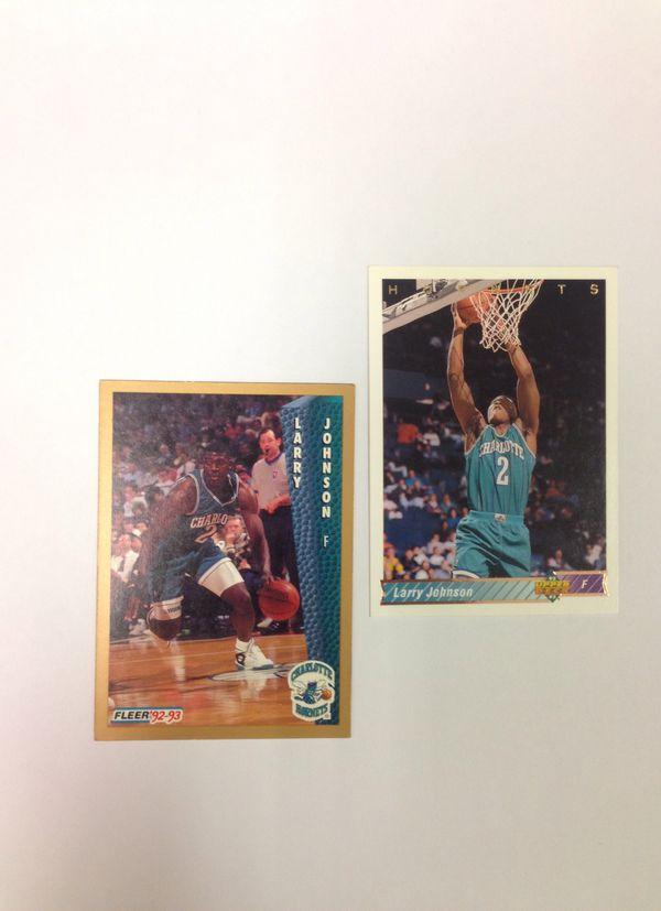 Charlotte Hornets Larry Johnson For Sale In Huntersville