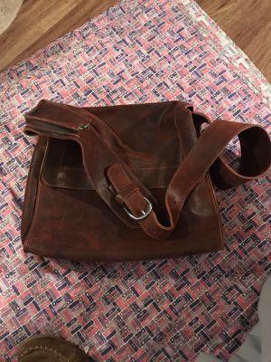 Leather messenger bag for Sale in Denver, CO