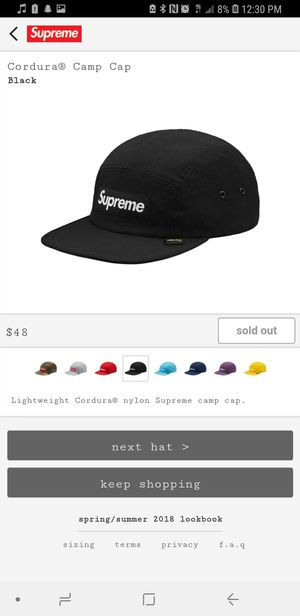 2e5542ce3e3 SUPREME BOX LOGO HAT for Sale in West Palm Beach