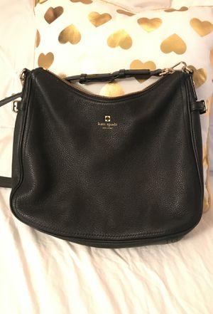Kate Spade black leather bag for Sale in Arlington, VA