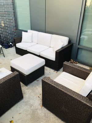 4 PIECE MATCHING PATIO SET for Sale in McLean, VA