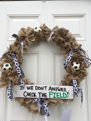 Soccer Wreath for Sale in Tampa, FL