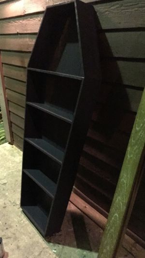 **COFFIN BOOKSHELF** for Sale in Austin, TX