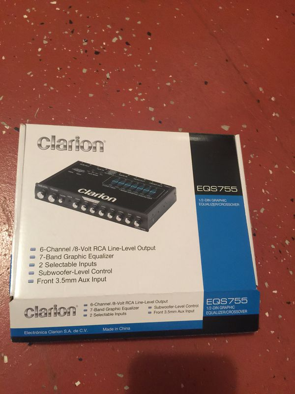 Clarion equalizer for Sale in Kissimmee, FL - OfferUp