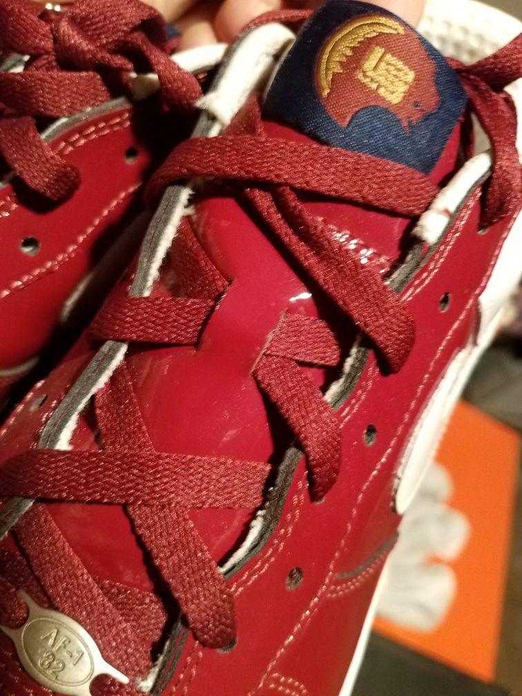 Nike af1 lebron patent leather sz 13
