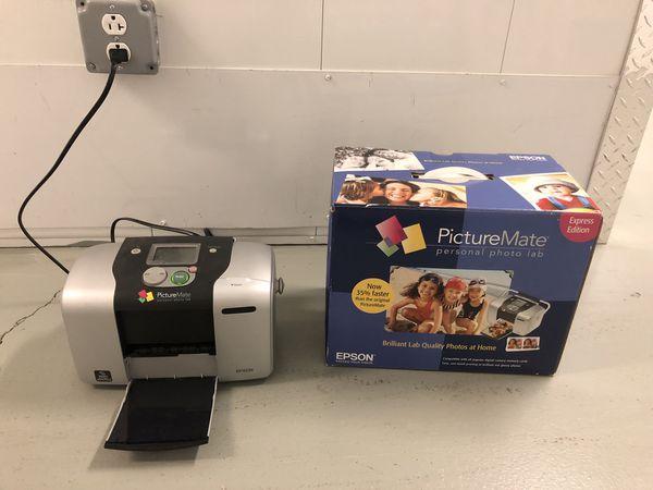 Epson Picturemate Personal Photo Lab Printer W Original Box For