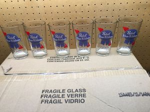 Pabst Blue Ribbon Pint Glasses for Sale in Seattle, WA