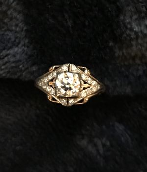 Antique exquisite 1940's 14k gold diamond ring. Appraisal available. for Sale in North Bethesda, MD