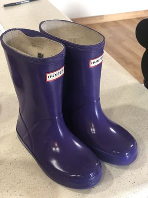 Toddler hunter boots for Sale in Hayward, CA