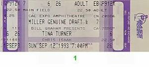 Tina Turner Tickets 40/G60/T100/B for Sale in Los Angeles, CA
