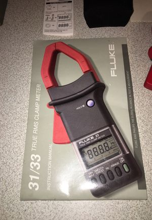 Brand New Fluke 33 TRUE TRMS CLAMP METER for Sale in Zebulon, NC - OfferUp