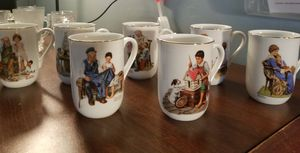 Norman Rockwell and FLINTSTONES glasses for Sale in Austin, TX
