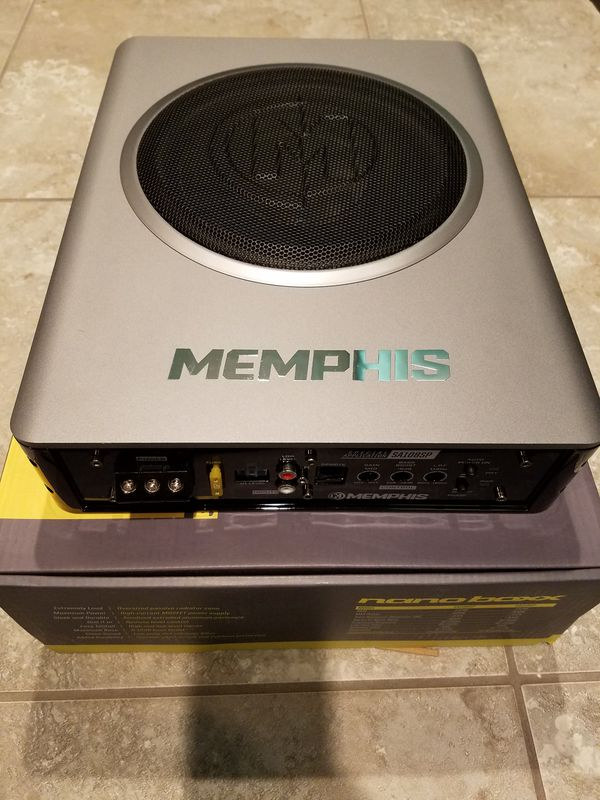 Memphis nano box under seat subwoofer amp combo for Sale in Las Vegas, NV -  OfferUp