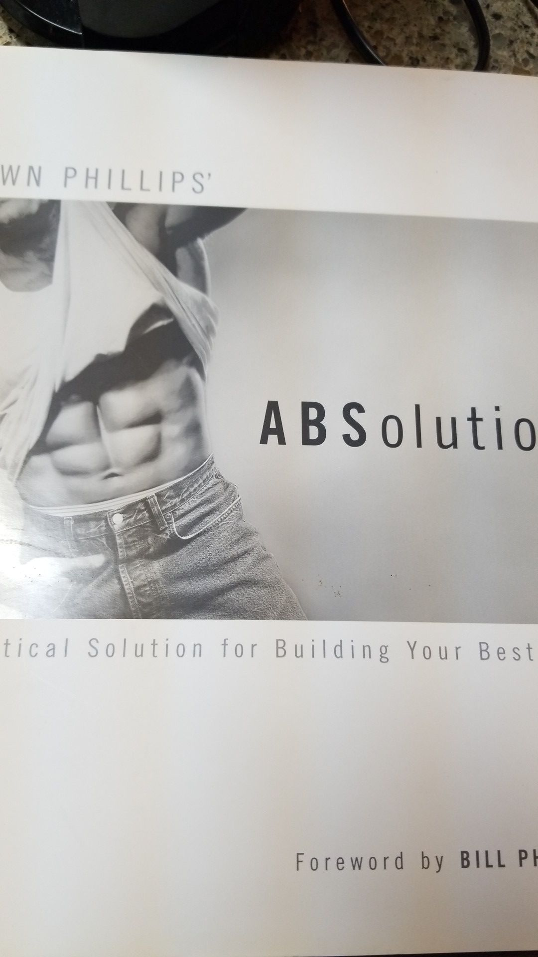 AB workout book by Shawn Phillips