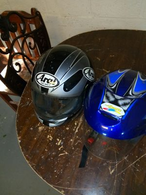Motorcycle helmets 20$for both of them for Sale in Washington, DC