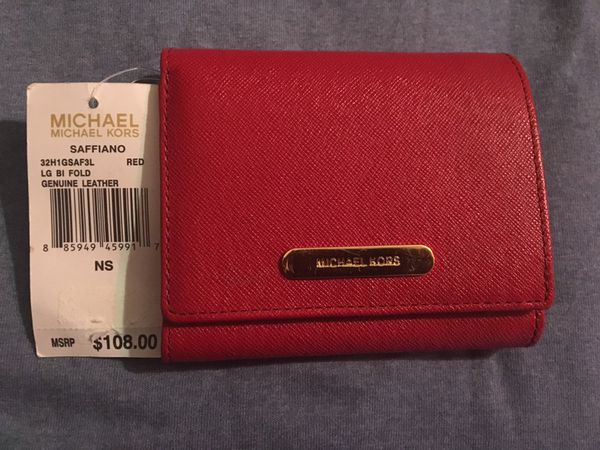 35fe131adc91 Authentic MK Wallet Red --- brand new for Sale in Memphis, TN - OfferUp