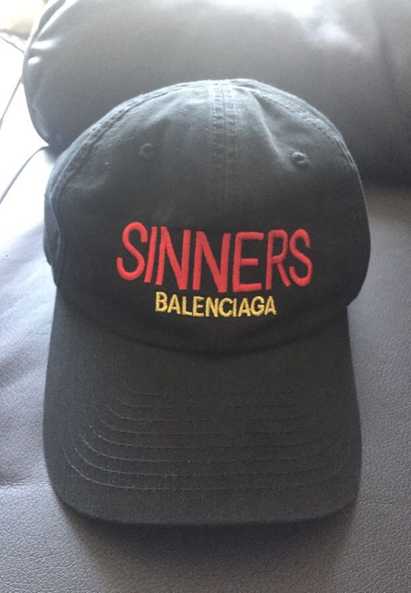"""364b82a3e6f Belenciaga """"SINNERS"""" hat for Sale in Los Angeles"""