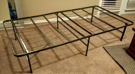 Long twin. Bed frame Thumbnail