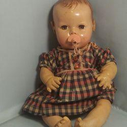 "Vintage Effanbee Dydee 14"" Baby Doll Thumbnail"