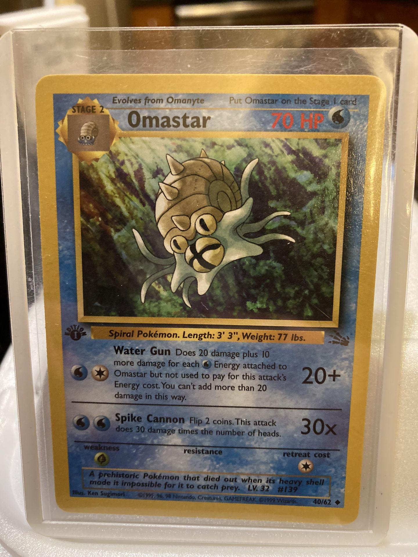 First Edition Omastar Mint