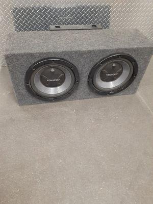 Photo Kenwood KAC-7204 Amp with 12 speakers