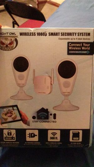 Night owl wireless 1080p smart security system for Sale in Fort Washington, MD